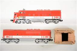 Clean Lionel 2245 Texas Special F3 AB Diesels