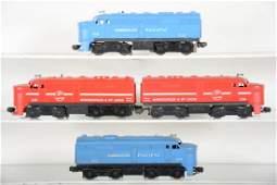 Lionel 205 & 213 Alco Diesel Sets