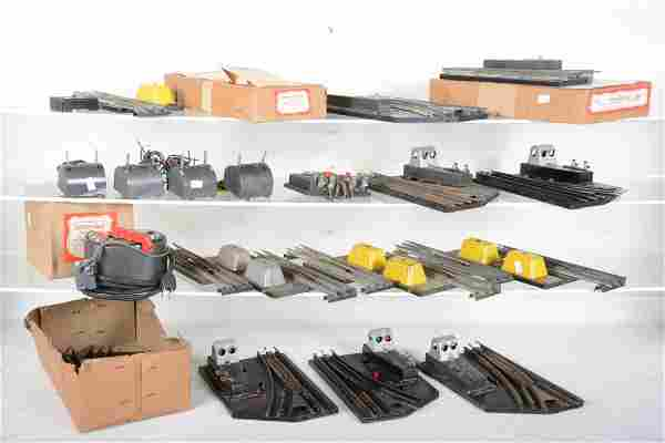 American Flyer O Gauge Switches and Track