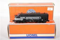 Lionel 14552 & 14555 NYC F3 ABA Diesels
