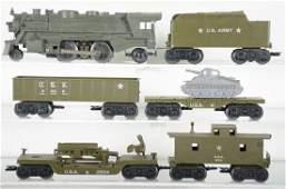 Nice Marx Military Train Set