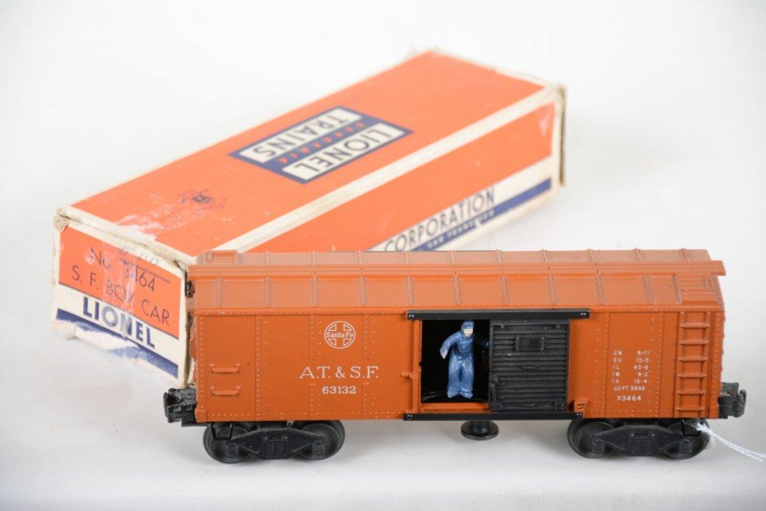 RARE Boxed Lionel Tan 3464 SF Boxcar