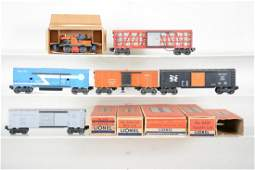 Clean Boxed Lionel Freight Cars Plus