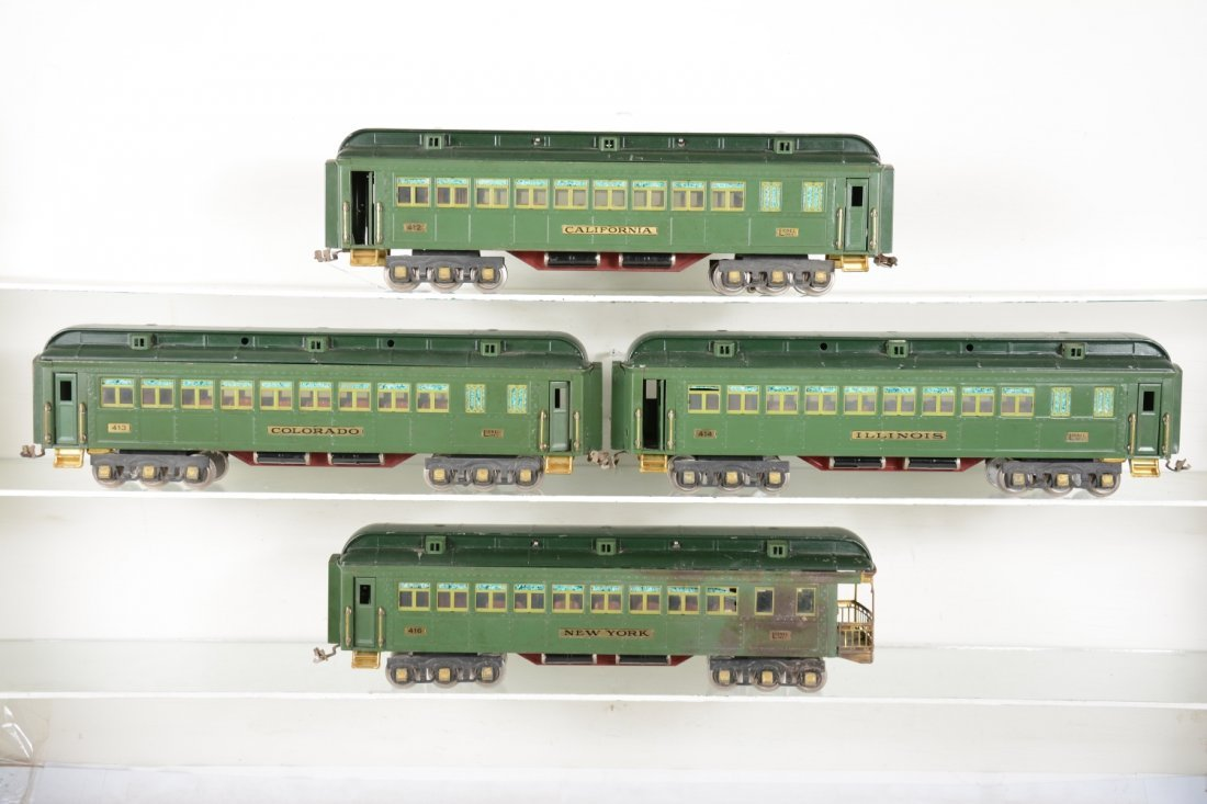 Lionel State Cars
