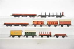 Early Marklin HO Freight Cars