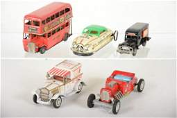 Japanese Tin Vehicle Lot