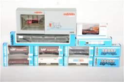Boxed Marklin HO Diesel Freight Set