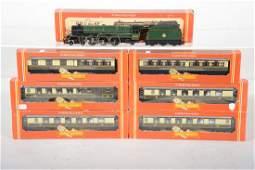 Boxed Hornby 00 Princess Elizabeth Passenger Set