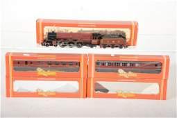 Boxed Hornby 00 Princess Royal Set