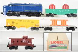 Boxed Late Lionel Set 11720