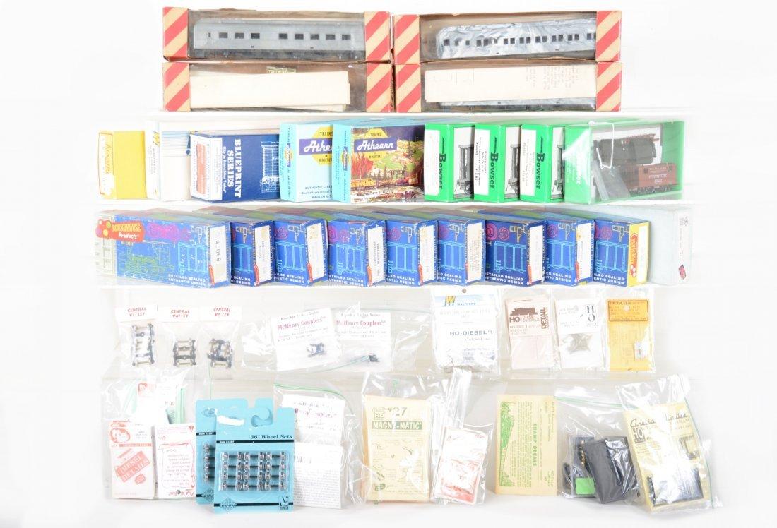HO Unbuilt Kits and Parts Lot