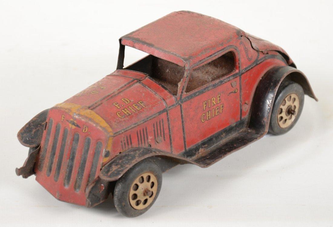 Marx Fire Chief Car