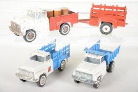 Large Hubley Toy Trucks