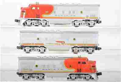 Lionel 2353 SF F3 ABA Diesels