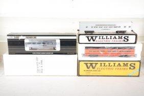 Williams & K-line Aluminum Passenger Cars