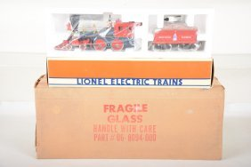 Lionel 18008 Disney Steam Loco With Display Case