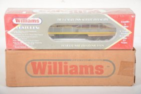 Williams 882538 & 517 Erie Lackawanna U33c Aa