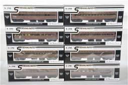K-Line PRR Modernism Streamline Cars
