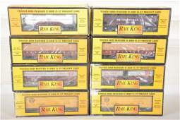 MTH RailKing PRR Freight Cars
