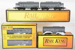 MTH RailKing NYC Passenger Set