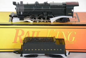 Mth Railking 30-1115-1 Prr K-4 Steam Locomotive