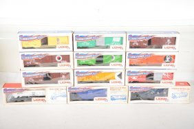 Lionel 1st Production Mpc Freight Cars