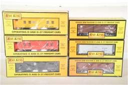 MTH RailKing Freight Cars  Plows