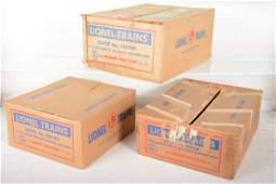 Empty Lionel Boxes 2211WS, 2223W & 2209W