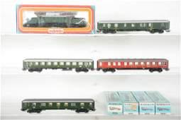 Boxed Marklin HO DB Express Train Set