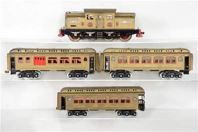 Lionel 402E Passenger Set, Repainted