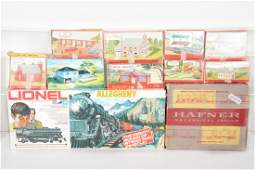 Lionel, Hafner & Plasticville Toy Train Lot