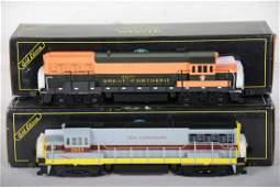 2 Weaver U25B Diesels with Sound
