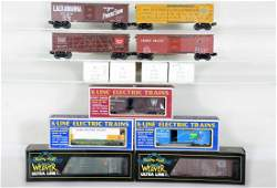 Assorted Boxed Modern Freight Cars