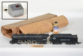 Nice Boxed American Flyer 324ac Hudson Locomotive