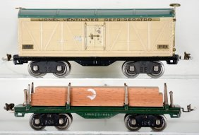 Lionel 511 & 514 Freight Cars