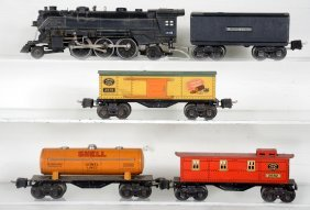 Lionel 1666 Steam Freight Set