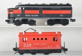 Clean Lionel 231 & 520 Powered Units