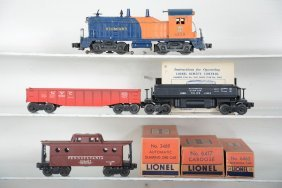 Lionel 6250 Diesel Freight Set, Some Boxes