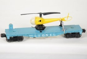 Scarce Lionel 3410 Helicopter Car