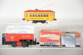 Boxed Lionel 60 & 55 Motorized Units