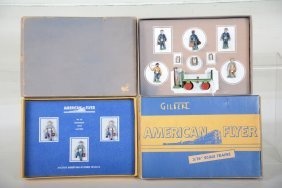 Boxed American Flyer 35 & 578 Figure Sets