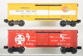 Clean Late Lionel 6464 Boxcars