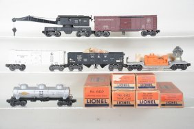 Clean Boxed Lionel Freight Cars, 1 Tough