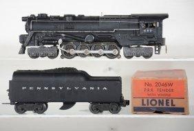 Clean Lionel 682 Steam Turbine, 1 Box