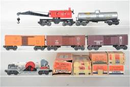 Clean Boxed Lionel Freight Cars 1 Tough