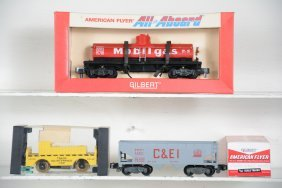 Boxed American Flyer 24316, 23743 & 24221