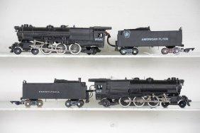 Clean American Flyer 312 & 312ac Locomotives