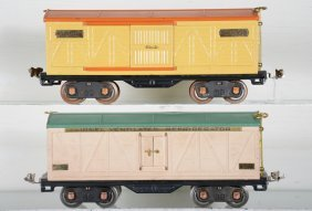 Clean Lionel 514 & 514r Freight Cars