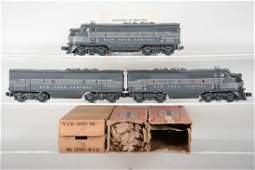 Clean Boxed Lionel 2344 NYC F3 ABA Diesels