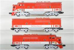 Lionel 2245 Texas Special F3 ABA Diesels